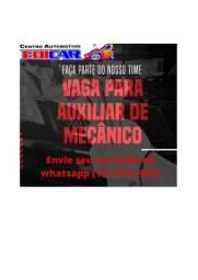 Título do anúncio: Edicar contrata auxiliar de mecânico automotivo