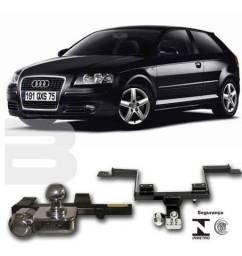 Título do anúncio: Engate reboque para Audi A3 sportback 2010/2011