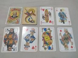 Cartas de baralho para coleção