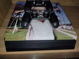 Playstation 4 Pró PS4 1TB 4K Com 2 Controles Em Prefeito Estado