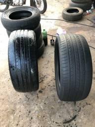 Vendo par de pneus 20
