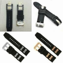 Título do anúncio: pulseira peças correia para relogio masculino invicta e outros