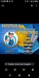 Reformas e acabamentos