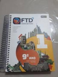 Vende-se livros FTD 9 ano ensino fundamental.