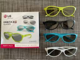 Óculos  3D Passivo LG Originais - Glasses Cinema 3D
