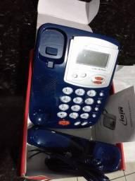 Aparelho telefone azul