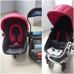 Carrinho e bebê conforto system travel infanti