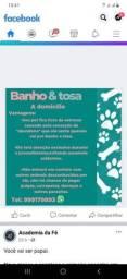 Título do anúncio: Banho e tosa a domicílio