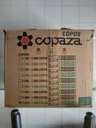 Caixa de copos transparentes 500ml c/ 995 (copaza)