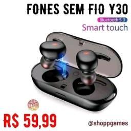 Fones Sem Fio y30 Bluetooth