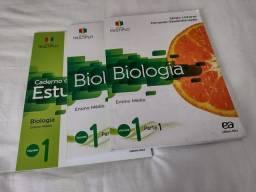 Box livros de biologia . Projeto múltiplo