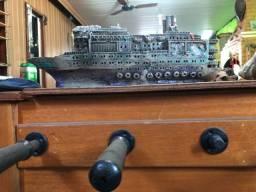 Enfeite de aquário navio titanic . Troca por filtro submerso acima de 1000 lt/hr