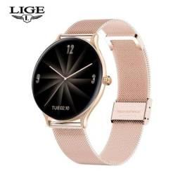 Smartwatch Rosé-Gold de Luxo