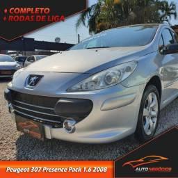 Título do anúncio: Peugeot 307 Presence 1.6 2008