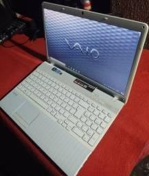 Notebook Sony i5 teclado alfa numéricos tudo ok