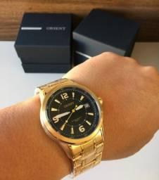 Lindo Relógio Masculino Original Orient Novo
