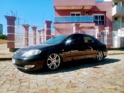 Corolla 2006 com suspensão a ar legalizada!