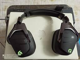 Headset gamer sem fio logitech g933