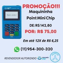 Maquininha Point Mini Chip do Mercado Pago