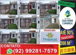 Casa => ótimo terreno - 200 m2 Iranduba - financiamos pela caixa <= vendo
