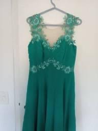Vestido tifany lindo! Usado 1 vez