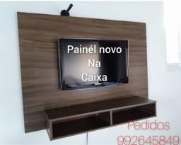 Painél tv com montagem e suporte de brinde!!