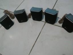 5 caixas de hometheater