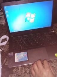 Dell i7  com placa de video 2gb detalhe na carcaça