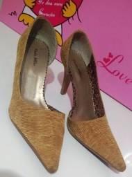 Título do anúncio: Sapato Feminino Marca Paola Milão Tamanho 36
