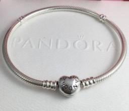 Título do anúncio: Bracelete Pandora Fecho Coração