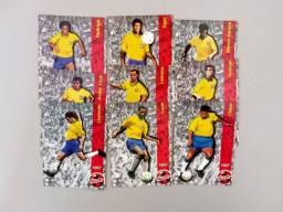 Futcards Coca Cola 1997 + Holograma