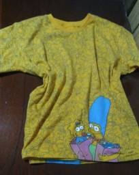 Camiseta Unissex Simpsons Tam: 8
