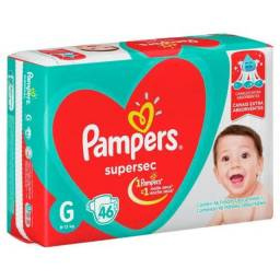 Fralda 2 Pacotes Pampers G (46)