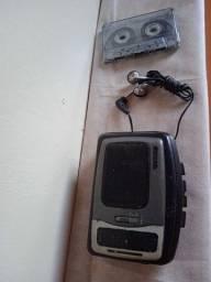 Walkman Aiwa Toca-fita e rádio