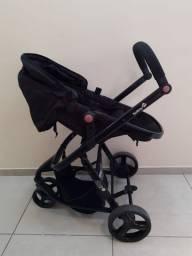 Carrinho de passeio, bebê conforto com  base para veículo - Safety 1st