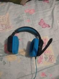 Fone de ouvido head set gamer g430 logitech
