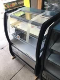 Balcão refrigerado 0,80 cm / balcão para comércio pequeno