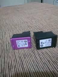 2 Cartuchos para impressoras original
