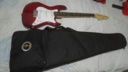 Guitarra Strinberg + queise + cabo P10