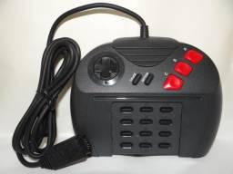 Controle original americano zerado para atari jaguar ou jaguar CD