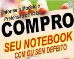 Notebook sem uso ou com defeito