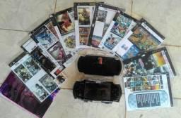 PSP com 55 jogos