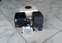 MOTOR TOSHOTA 6.5 HP completo com timão, eixo, hélice, RABETA