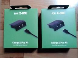 2 Baterias 300mah Recarregáveis Para Controle Xbox