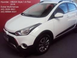 Hyundai Hb20X Style 1.6 Flex - Completo - Periciado - 2016