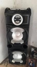 Caixa de som amplificada da marca multise