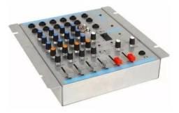 Mesa De Som Mixer Oneal Omx 412 Com 4 Canais Bivolt