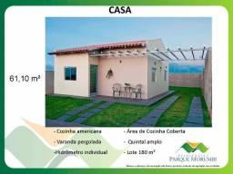 Casa 2 quartos em condomínio R$ 175 mil