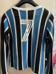 Camisa Grêmio feminina manga longa