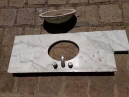 Pia de marmore para banheiro